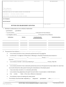 Form Fl-015 - Petition For Grandparent Visitation Form - Superior Court Of California, County Of Stanislaus