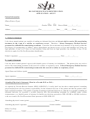 Do-not-resuscitate Identification Application - Adult Form - Southern Nevada Health District