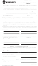 Form Sm-4 - Surface Mining Savings Account Assignment - Washington Department Of Natural Resources
