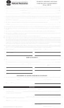 Form Sm-5 - Surface Mining Savings Certificate Assignment - Washington State Department Of Natural Resources