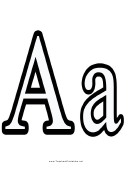 A Letter Template