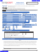 Medicare Part D Prescription Claim Form