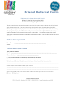 Friend Referral Form - Academy Of Music And Arts, Asheboro, Nc