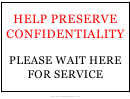Confidentiality Sign Template
