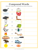 Compound Words Activity Sheet