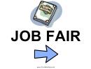 Job Fair Sign Template