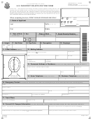 Us Passport Re-application Form