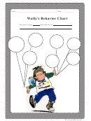 Wallys Behavior Chart