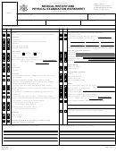 Ds-3026 Form - Medical History And Physical Examination Worksheet