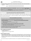 Form Ds-11 - Application For A Us Passport