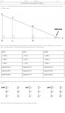 Introduction To Trigonometric Ratios