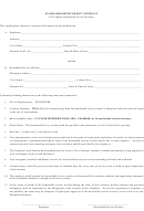 Standard Employment Contract For Philippino House Workers