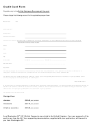 Credit Card Form Uk (credit Card Balance Sheet)