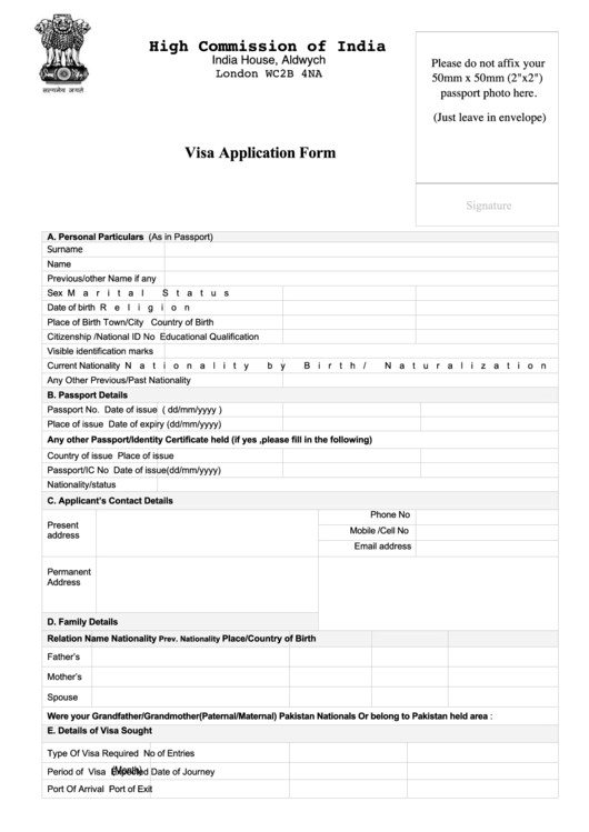 page_1_thumb_big X Visa Application Form Template on enter japan sample, b1 b2, south africa, german schengen,