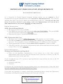 Mandatory Immunization Health History Form