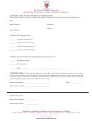 Sample Authorization To Release Dental Information