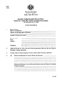 Form 133.6 - Secondary Trading Exemption Renewal Notice - 1995