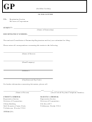 Form Cr2e068 - Cancellation Of Partnership Registration