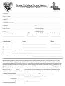 Medical Release Form - Youth Soccer