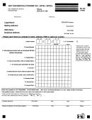 Form Rd-106 - 2007 Convention/ Tourist Tax Form - Hotel/motel - Revenue Division Of City Of Kansas City, Missouri