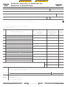 Form 541-t - California Allocation Of Estimated Tax Payments To Beneficiaries - 2005