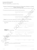 Certificate Template Of Limited Partnership And Statement Of Registration To Register As A Limited Liability Limited Partnership - Colorado
