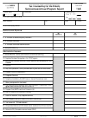 Form 8654 - Tax Counseling For The Elderly Semi-annual/annual Program Report Form