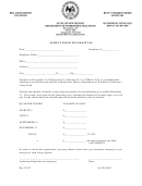 Surety Bond Transmittal Form - State Of New Mexico Department Of Workforce Solutions