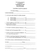 Quarterly Sales Tax Report Form - Alakanuk, Alaska