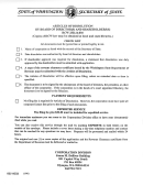 Articles Of Dissolution Form - 1996