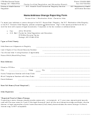 Form Dhsr/hcpr 4503 - Name/address Change Reporting Form - N.c. Department Of Health And Human Services