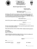 Bristol Virginia Meals Tax Form - Commissioner Of The Revenue