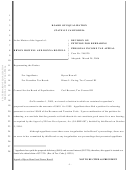 Personal Income Tax Appeal Form - Decision On Petition For Rehearing - Board Of Equalization - State Of California (expired 2006)