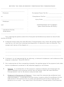 Form 14-0025 - Compromise Settlement - Iowa Workers' Compensation Commissioner