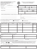 Form Lb-0443 - Report To Determine Status State And Local Government