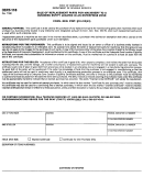 Form Cert-118 - Sale Of Replacement Parts For Machinery To A Business Entity Located In An Enterprise Zone Certificate Form - Department Of Revenue Services, Connecticut