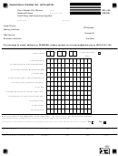 Form Rd-106 - Convention & Tourism Tax - Hotel/motel - City Of Kansas Revenue Division, Missouri