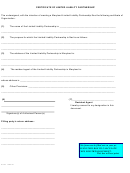 Form Sdat - Certificate Of Limited Liability Partnership - 2010