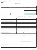 Form D-76a - Amended Dc Estate Tax Return