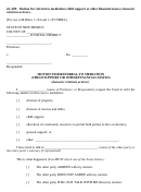 Form 4a-205 - Motion For Referral To Mediation (child Support Or Other Financial Issues) (domestic Relations Actions)