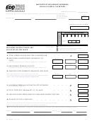 Form De 3hw - Employer Of Household Worker(s) Annual Payroll Tax Return