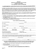 Form C-ref-su, Form Mv-e&a - Claim For Refund - Sales And Use Tax On Casual Purchase Of Motor Vehicle, Affidavit Of Vehicle Examination And Appraisal - Rhode Island Division Of Taxation