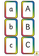 Spelling Frame Abc Template (a-a)