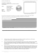 Statement Of Correction Certificate Of Registration Of Foreign Limited Partnership Form