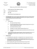 Arkansas Resident Principal Designation Letter Form - State Of Arkansas