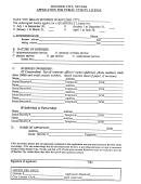 Application Form For Public Utility License - Boulder City