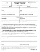 Form 2045 - Transferee Agreement Form