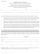 Form St-20a - Sales And Use Tax Certificate Of Exemption