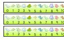 Dinosaur Desktop Numberlines 0-20 Template