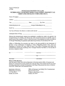 Form It-wh-cep - Notice Of Intention To Claim Withholding Tax Benefit Form Clean Energy Property Tax Credit